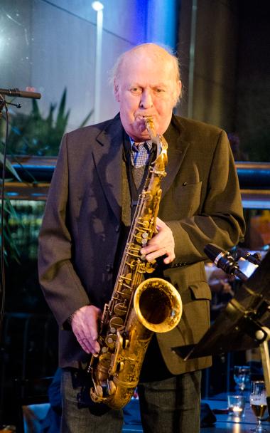 2015-03-04 Carin Lundin & Nisse Sandström med Kjell Fernströms Trio - DSC_0002